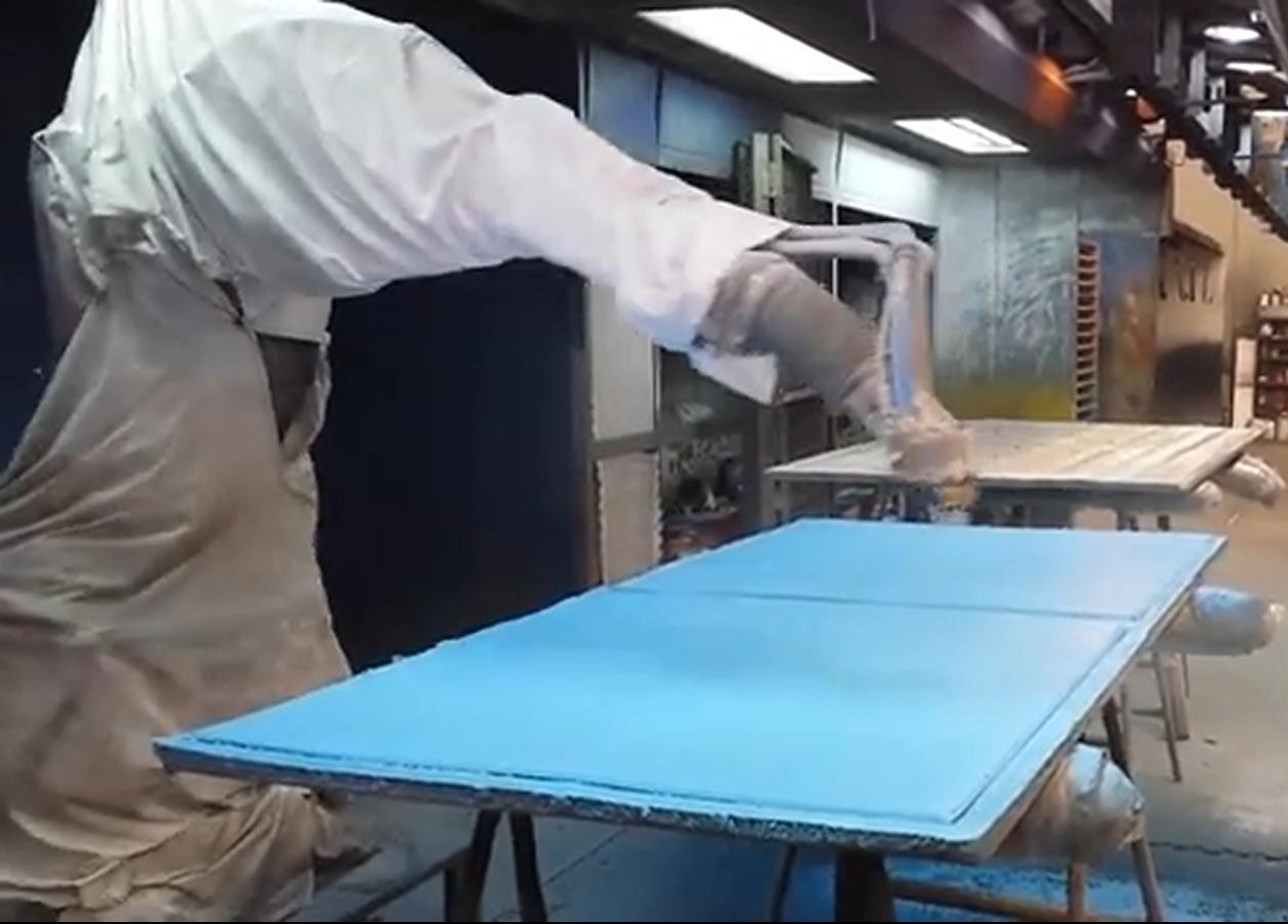 Video de nuestro robot abb pintura