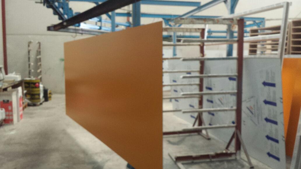 lacado panel compossite Ral 1006 (8.07.14)