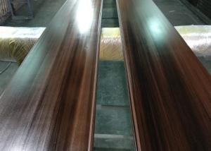 cajón de PVC lacado en imitación madera